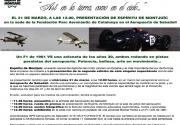 Carrera Bücker y F1 LDS