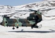 Chinook en Afganistán