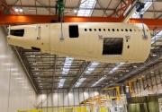 Fuselaje trasero del A350