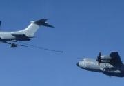 Reabastecimiento del A400M