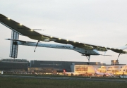 Solar Impulse en Bruselas