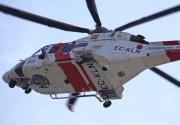 AgustaWestland - AgustaWestland AW139, de Salvamento Marítimo de España (EC-KLN), en Girona (España) en mayo de 2012. / Foto: Roff Szamik