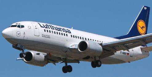 Boeing 737 de Lufthansa