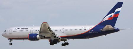 En tres años shan producido 1.100 actos vandálicos en aviones de Aeroflot
