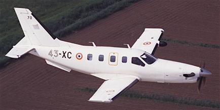 TBM-700 de la Fuerza Aérea frencesa