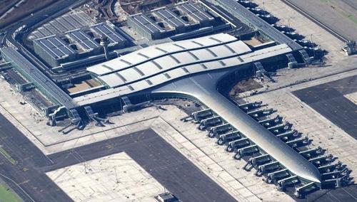 Terminal T1 del aeropuerto de Barcelona