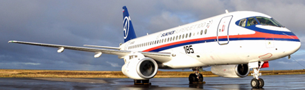Foto del Suhkoi Superjet 100