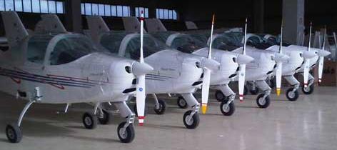 Aviones del fabricante italiano Tecnam