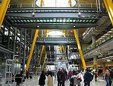 Una de las terminales de Madrid-Barajas
