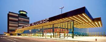 Terminal del aeropjuerto de Lleida-Alguaire