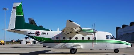Uno de los últimos C-212 que se fabricaron. Este se entregó a Tailandia