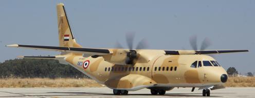 Uno de los C295 entregados a Egipto en septiembre de 2011