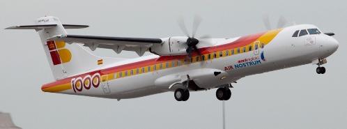 Avión ATR de Air Nostrum
