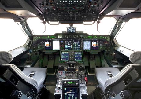 Cabina del A400M