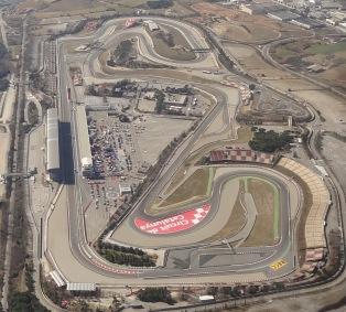 Vista aérea del Circuit de Cataluña de F1/ Foto: AeroTendencias.com