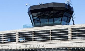Torre de control del aeropuerto de La Palma