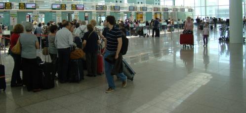 Terminal T1 del Aeropuerto de Barcelona-El Prat