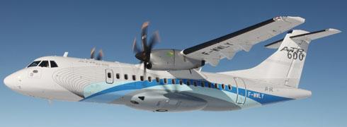 ATR tiene en total 221 pedidos de aviones, lo cual supone tres años de producción