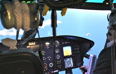 Simulador de helicópteo