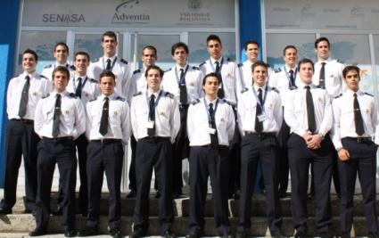 Los nuevos pilotos que se han formado en Adventia