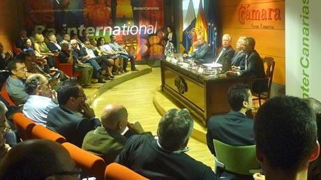 Presentación de la nueva internacional de Binter Canarias