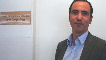 El diputado socialista Carlos Corcuera