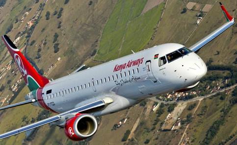 Espectacular imagen del Embraer 190 en vuelo / Fotos: Embraer