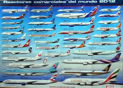 Aparecen 36 aviones