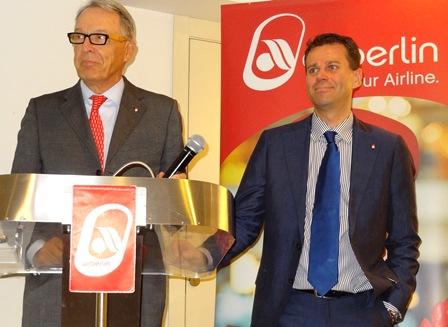Álvaro Middelmann y Paul Verhagen durante la rueda de prensa / Foto: JFG
