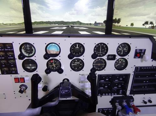 Imagen del interior del simulador OVO-04