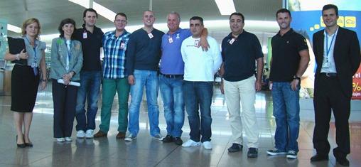 Imagen de los visitantes, en Barcelona - El Prat / Foto: Aena Aeropuertos