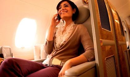 La primera llamada se produjo el 2 de octubre desde un A380 a China