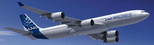 Airbus ha fabricado 379 unidades del A340