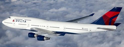 Boeing 747 de Delta Air Lines