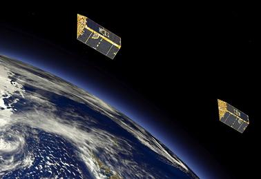 satelites astrium grace