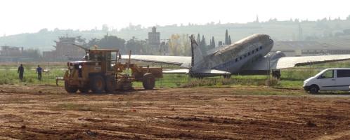 Se ha empezado a acondicionar el solar en el que se levantará el Museo Aeronáutico de Catalunya