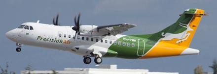 ATR 42-600 de Precision Air / foto: ATR
