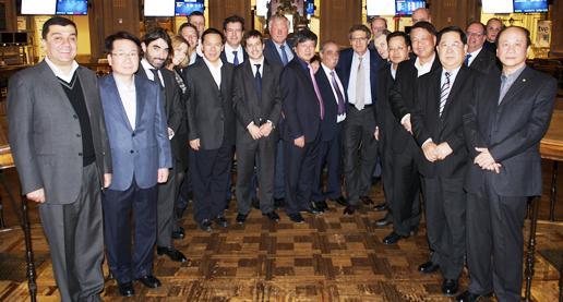 Skyline reunión Madrid