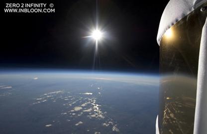 Imagen de la Tierra desde el microbloon 2.0 / Foto: zero2infinity