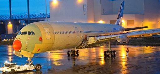 Construcción de primer A359 / Foto: Airbus