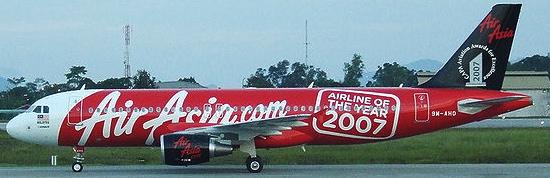A320 de Air Asia