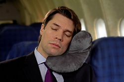 almohadilla dormir avión