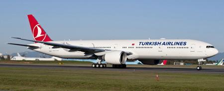 Uno de los 12 Boeing 777 que ya opera Turkish Airlines / Foto: Boeing