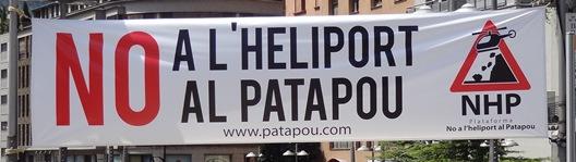 Helipuerto Andorra Patapou