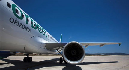 Orbest, que pertenece a Orizonia, cuenta con una flota de nueve aviones