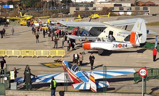 Se expusieron 20 aeronaves, una parte de las cuales realizaron vuelos de demostración