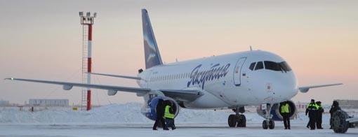 aircompany Yakutia Sukhoi Superjet 100