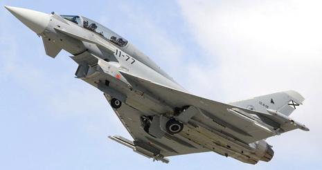 El Ejército del Aire incorporó el Eurofighter en 2004 / Foto: Ministerio de Defensa