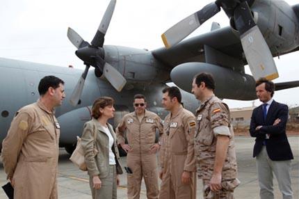 Avión Hércules traslada tropas a Mali