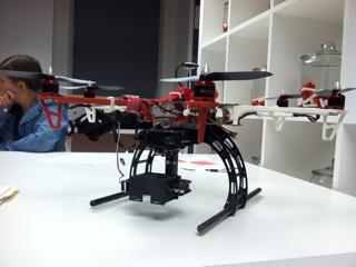 Prototipo de un drone